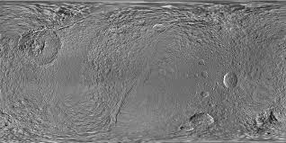 Moon Map Space Images Map Of Tethys August 2010
