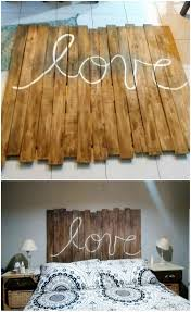 Wood Pallet Headboard The Best Diy Wood Pallet Ideas And Projects Recycled Things