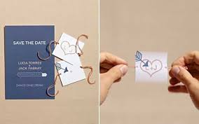 unique save the date cards 36 and clever ways to save the date