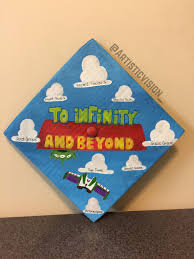 custom graduation caps story custom graduation cap toystory disney