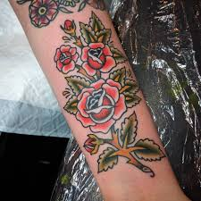 tattoos for guys forearms traditional rose tattoo forearm men forearm tattoos pinterest