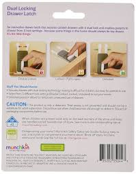 amazon com munchkin xtraguard 2 count dual locking drawer