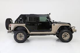 jeep commando custom moab commando jeep concept vehicle revealed by dealer services