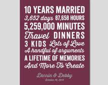 10 year wedding anniversary gifts the 25 best 11 year anniversary ideas on 3 year