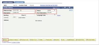 peoplesoft hrms tables list adding locations in hrms and the cus table academic structure