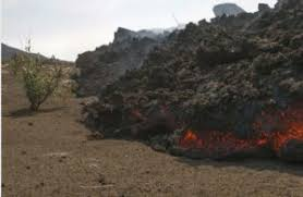 what are lava ls made of into the fire of fogo volcano in cape verde