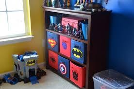 Diy Superhero Room Decor Image Of Diy Superhero Bins Penny Wise Diys Superhero Storage Bins
