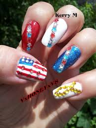 68 best red white u0026 blue images on pinterest 4th of july nails
