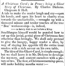 how was charles dickens a carol novella received when