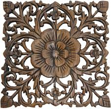 stupendous oriental outdoor wall decor oriental hand carved wood