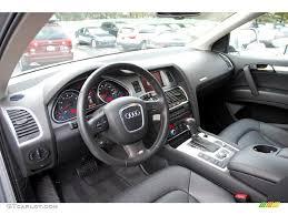 Audi Q7 Inside Black Interior 2008 Audi Q7 4 2 Premium Quattro Photo 43223327