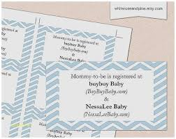 baby registry cards baby shower invitation luxury registry info on baby shower