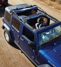 jeep wrangler 4 door top off bestop 5472335 supertop nx soft top with tinted windows for 07 18