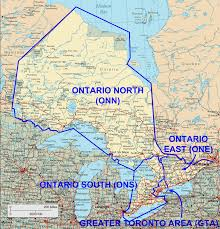 Map Of Ontario Map Of Onterio Canada You Can See A Map Of Many Places On The