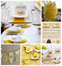 bumble bee baby shower inspiration boards
