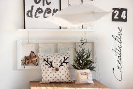 diy weihnachtsdeko diy rentier kissen und 1 weihnachtsdeko creativlive