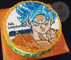 Dragon Ball Z Cake Decorations by Dragon Ball Goku Cake Pastel De Goku Mis Pasteles Pinterest Cake