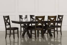 dining room 7 piece sets pelennor 7 piece extension dining set living spaces