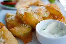 courgette cuisine crispy fried zucchini courgette fritters recipe