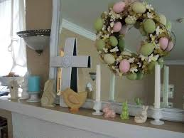 easter mantel decorations the images collection of contemporary fireplace easter mantel