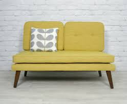 retro vintage mid century danish style sofa bed daybed eames era