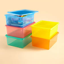 Arts And Craft Storage For Kids - kids u0027 storage containers kids colorful see through stackable box