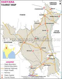 Bahadurgarh Metro Map by Haryana Travel Map Jpg