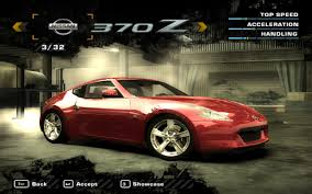 nissan 370z max speed need for speed most wanted nissan 370z nfscars