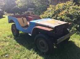 jeep offroad trailer rare pre standardization jeep 1941 ford gp project bring a trailer