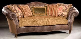 single cushion sofa tufted leather in back 23