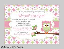 owl baby shower invitations printable baby shower