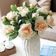 Aliexpress Com Buy Artificial Gardenia Flowers For Wedding Three
