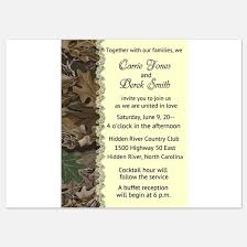 camouflage wedding invitations camo stationery cards invitations greeting cards more
