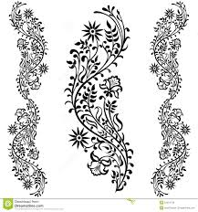 decorative flower drawing swirling decorative flower stock vector image 51524133