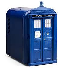 Small Under Desk Refrigerator Doctor Who Tardis Mini Fridge Thinkgeek