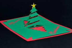 complex pyramid tree pop up card template creative pop