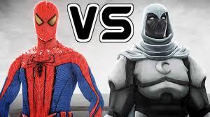 spiderman vs moon knight the amazing spider man youtube