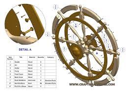 ship wheel plan