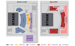 Ticketmaster Floor Plan Aura Portland Tickets Schedule Seating Chart Directions
