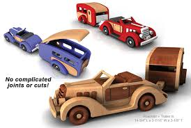 Plan Toys Garage Set by Build The 1935 Woody Wagon And Trailer Full Size Wood Toy Plan Set