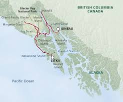 Sitka Alaska Map by Alaska Whales Wildlife Glaciers Uncruise Adventures