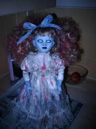 Scary Baby Doll Halloween Costume Zombie Bridemy Zombie Babymy Chuchy Doll Finished