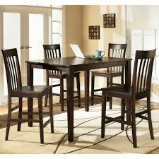 Ashley Dining Room by Ashley Hyland 5 Pc Counter Height Dining Set Dining Shop The