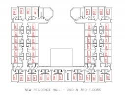Floor Plan For Residential House New Residence Hall U2013 Residential Education And Housing