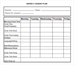 doc 585650 sample daily lesson plan template u2013 daily lesson plan