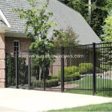 security fences stair railing garden fence aluminum wrought