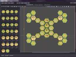 Dropper Map What Would Be The Best Way To Do A Board Game With Hexes And