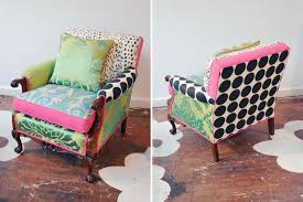 Patchwork Upholstered Furniture - patchwork chairs and stools to make