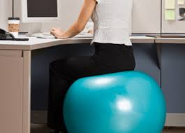 Exercise At Your Desk Equipment Reasons Why Your Should Be On An Exercise Ball Instead Of A