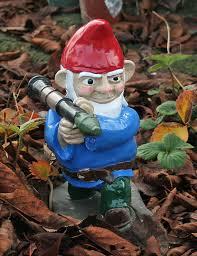anorak combat garden gnomes the finest militarized lawn